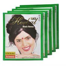 RKS Herbal Henna Черно (Пакет от 5)